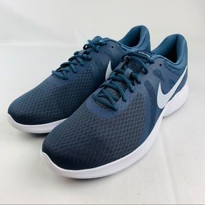 New Nike Revolution 4 Thunder Blue/ Football Grey